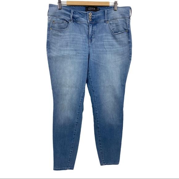 Torrid Jeggings Blue Jeans Women's Sz 20R